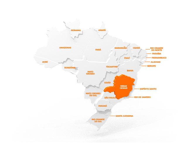 Mapa de Representação Vulcaflex