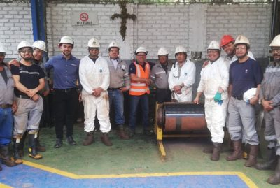 Vulcaflex provides its customers in Colombia with training in its Industrial Line products